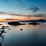 12. Oktoober 2018 - 18:32 - Une fin de journée de fin de semaine vers la presqu'île de Giens. Ici au sunset, une pose longue avec une eau relativement calme, mais des moustiques omniprésents !
