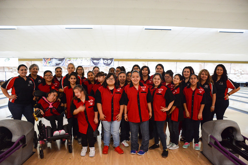 Rivera Early College High School Special Olympics Bowling Team 2018