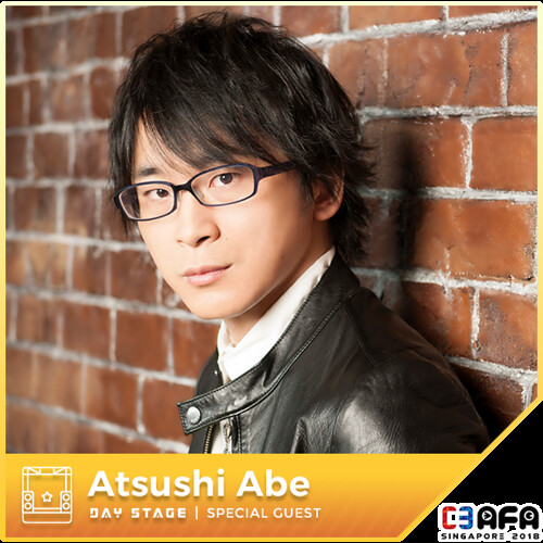 C3AFA18_Day_Stage_Guests_Abe_Atsushi