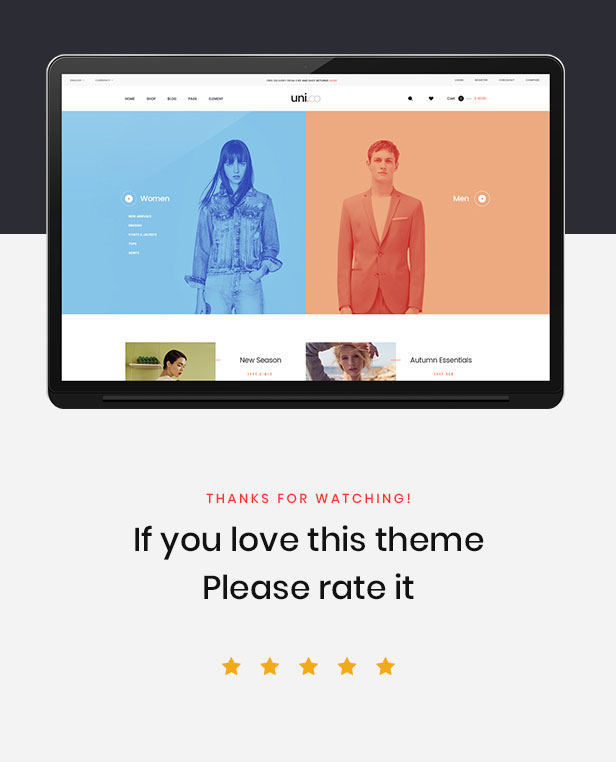 Leo Uni Co - Unisex Fashion and Accessories Prestashop 1.7.4.x Theme - 1