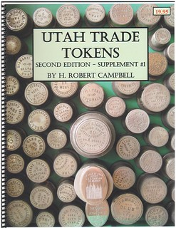 Utah Trade Tokens 2nd Edition supplement 1