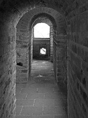 Inside a Great Wall watchtower