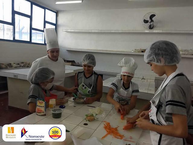 "4º ano - Projeto ""INB Chef"""