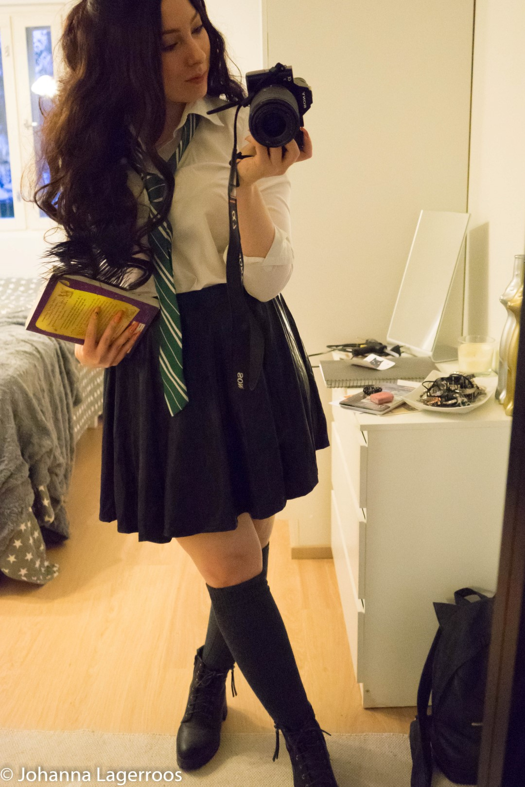 slytherin girl outfit