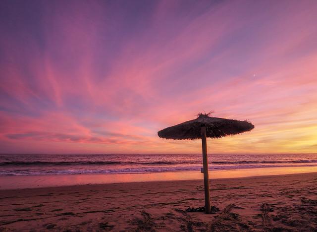 Iberian sunset