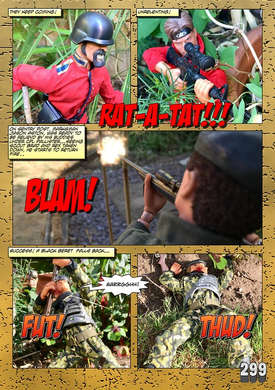 BAM2272 Presents - An Old Face Returns! Chapter Eighteen - The Munrovians Prepare their defences - Part Two 31909654878_5b2bae610e_c