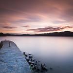 24. September 2018 - 19:18 - Lago Maggiore at dusk