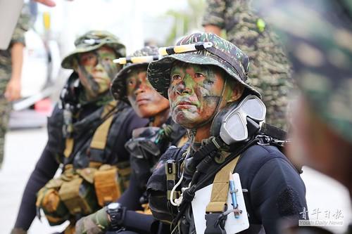 海軍陸戰隊兩棲偵搜大隊103期水中爆破專長班訓練