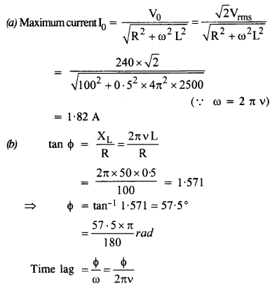 NCERT Solutions for Class 12 physics Chapter 7.15