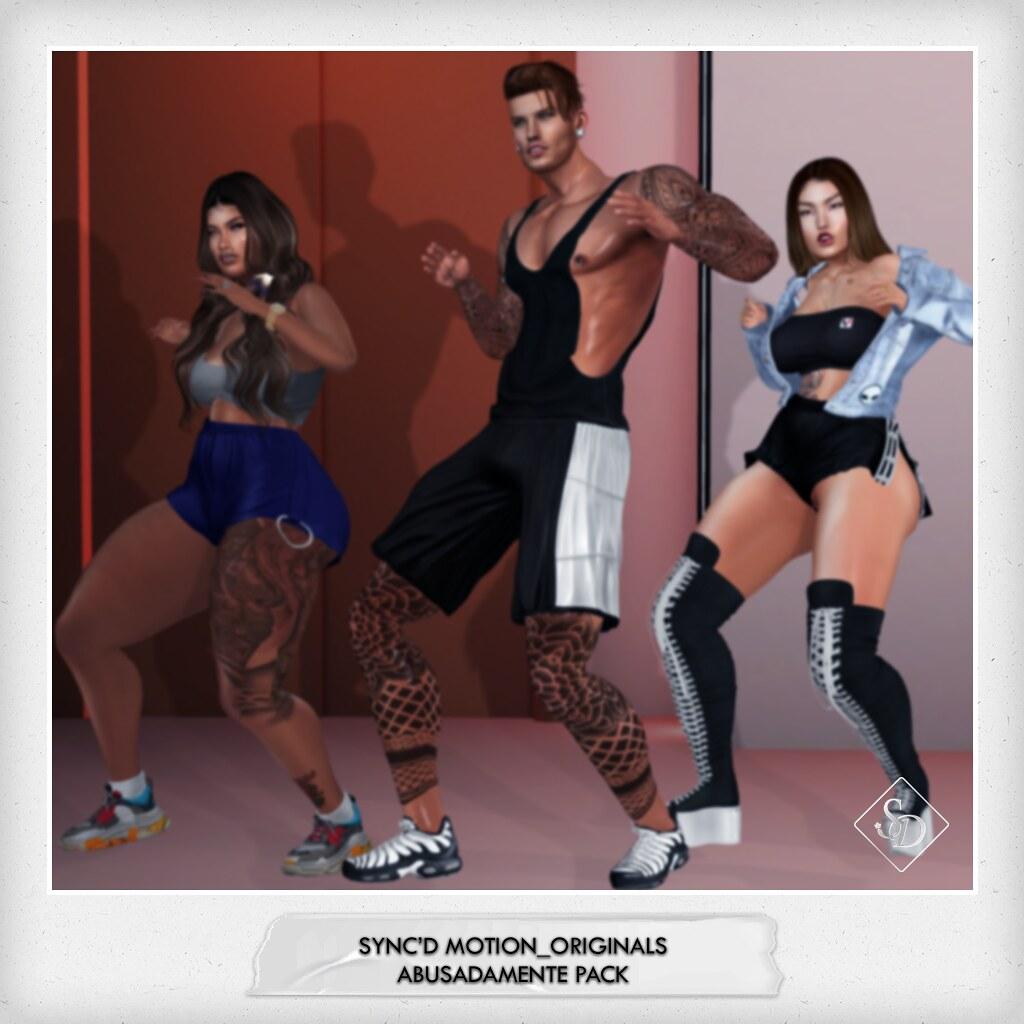 Sync'D Motion__Originals - Abusadamente