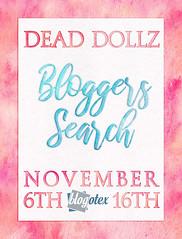 Dead Dollz Bloggers Search - November 2018