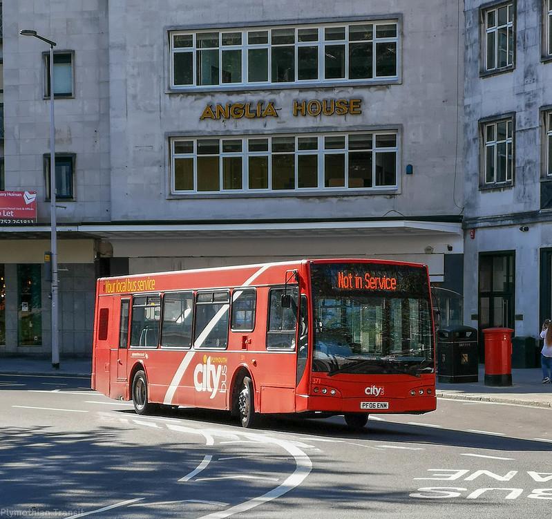 Plymouth Citybus 371 PF06ENM