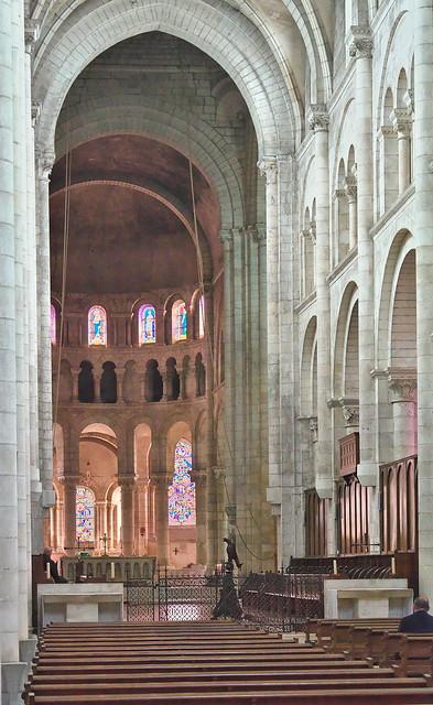 Fontgombault, Indre, France. Abbey of Notre Dame.