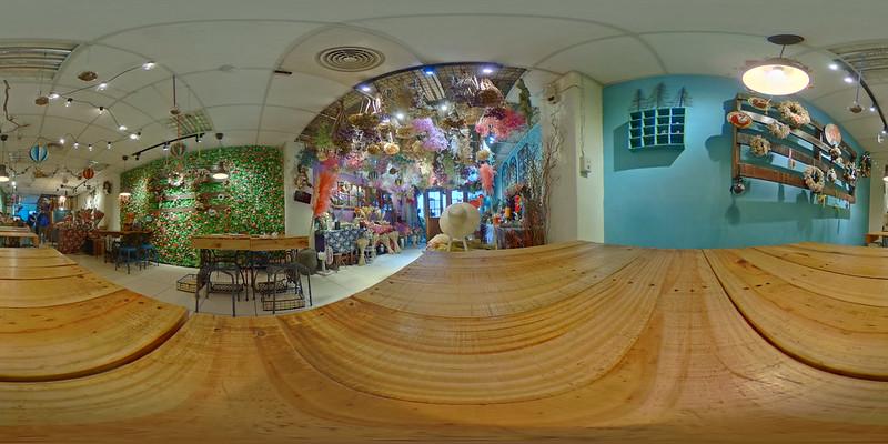 乾燥花主題咖啡廳