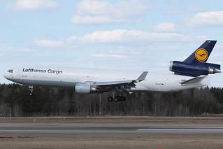 Lufthansa Cargo McDonnell Douglas MD-11F D-ALCF 170419 ARN