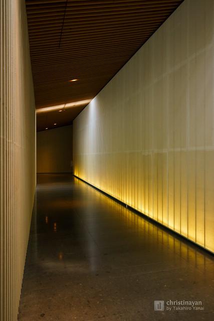 Indoor of Nakagawa-machi Bato Hiroshige Museum of Art (那珂川町馬頭広重美術館)