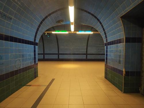 Metro Station Parqué Lissabon