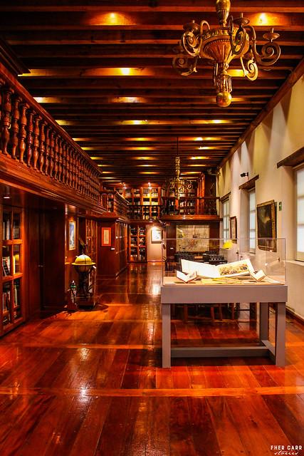 Biblioteca en el Museo Franz Mayer