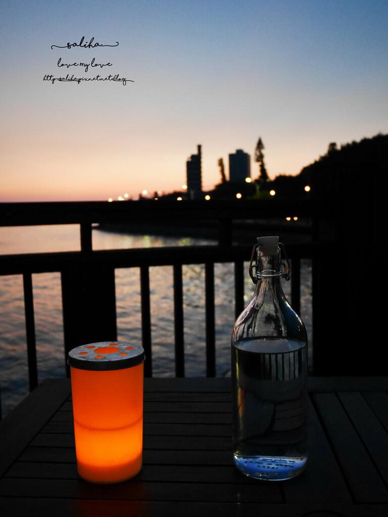 新北淡水老街夜景夕陽景觀餐廳咖啡館推薦la villa cafe (6)
