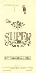 Garrard Super Gramophone Motor