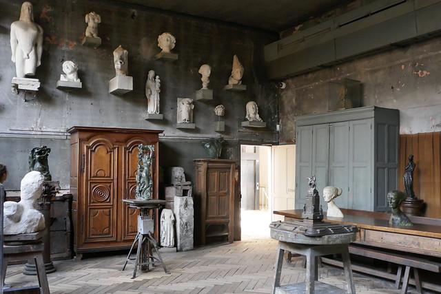 Antoine Bourdelle's studio, Panasonic DMC-ZS100