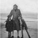 Irene with John and Kenneth at Formby, 1952