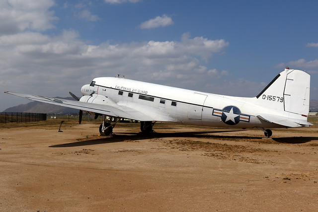 United States Air Force | Douglas VC-47 | 0-15579 | March Field Air Museum