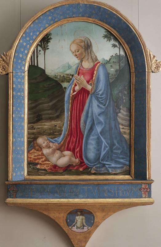 Madonna col Bambino, Francesco Botticini, Firenze 1446-1498