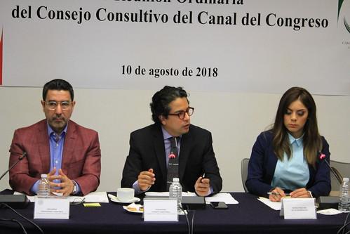 Consejo Consultivo del Canal del Congreso 10/ago/18