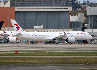 F-WWIW Airbus A350 China Eastern