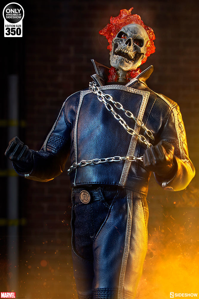 The Devil's Flame Returns! Sideshow Collectibles Ghost Rider Classic Variant 1/6 Scale Figure