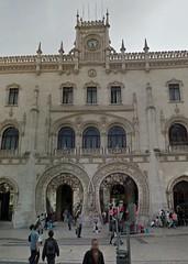 Rossio Railway Station. Lisboa.