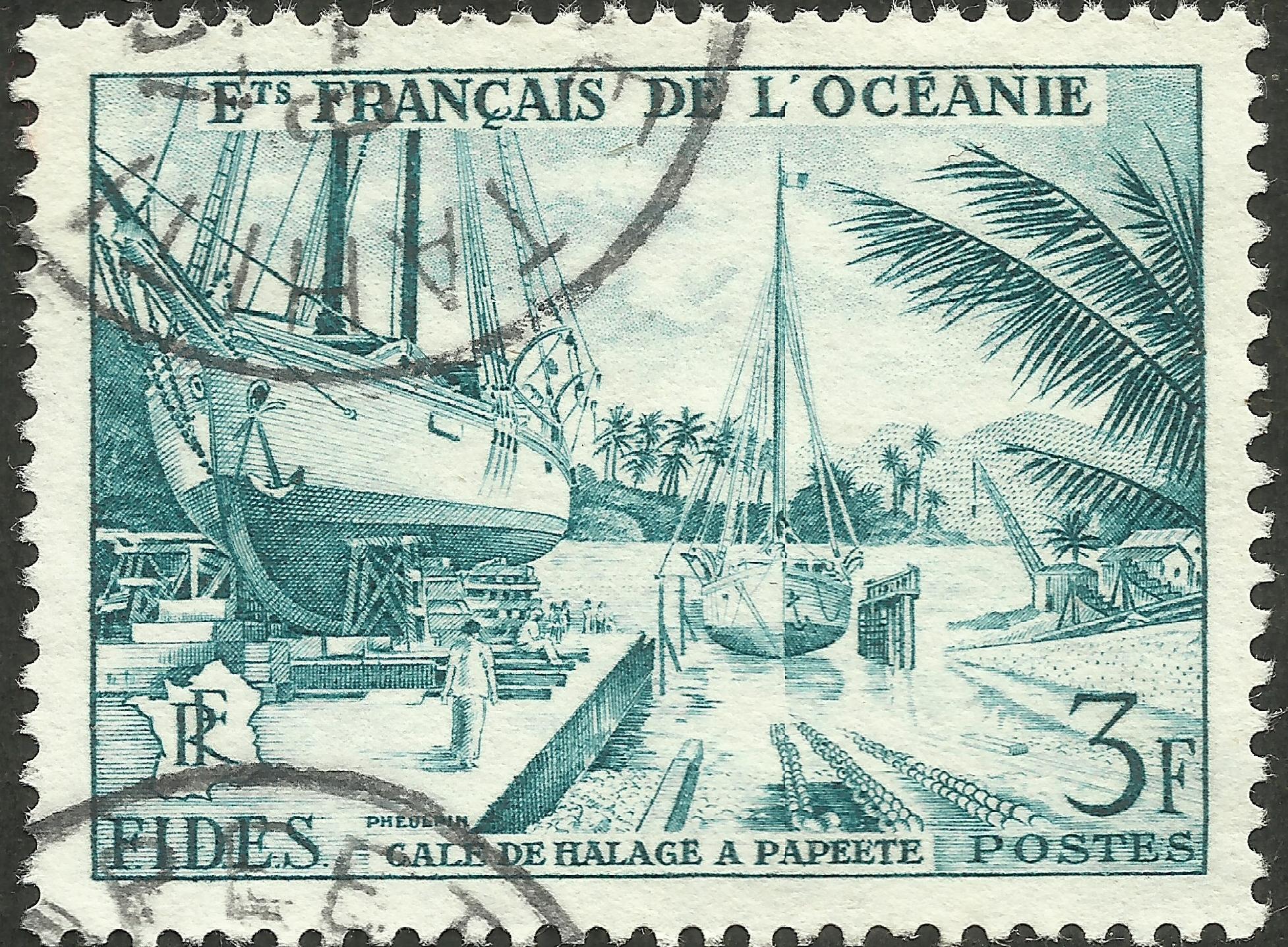 French Oceania - Scott #181 (1956)