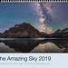 2019 Amazing Sky Calendar Cover