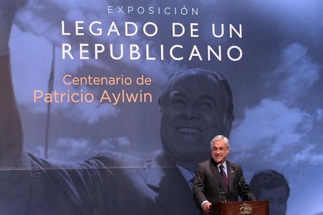 Presidente Piñera celebra el legado de Patricio Aylwin en su centenario