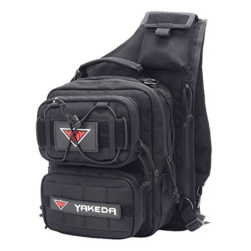 YAKEDA Outdoor Tactical Shoulder Backpack, Military & Sport Bag Pack Daypack for Camping, Hiking, Trekking, Rover Sling –KF043 Review