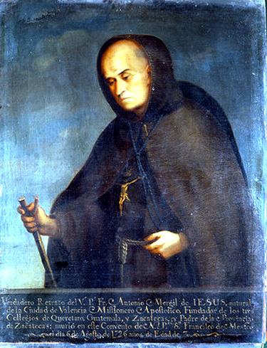 Antonio Margil de Jesus, ofm