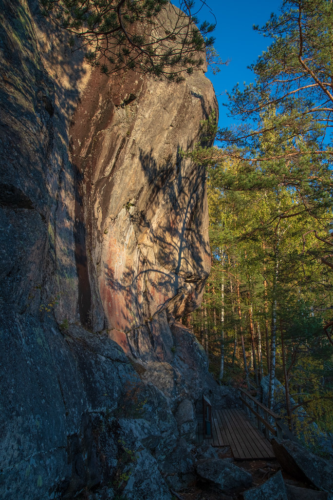 Astuvansalmi rock paintings