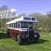 Vintage Edinburgh Bus