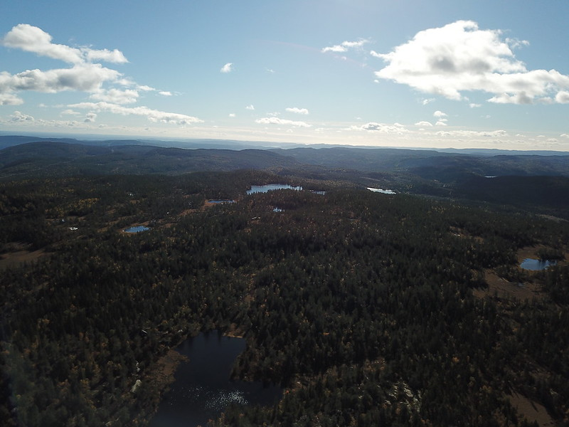 44-Utsikt sørover fra Hovlandsfjell (drone)