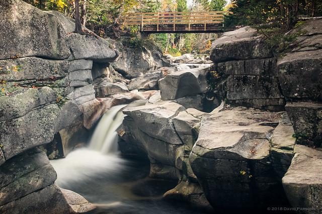 Upper Ammonoosuc Falls, RICOH PENTAX K-3, Sigma 17-50mm F2.8 EX DC HSM