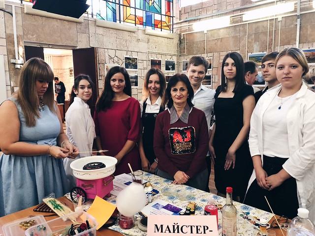 Учні ММК ім. В. Д.Чайки на обласному фестивалі «Моя STEM-ідея»