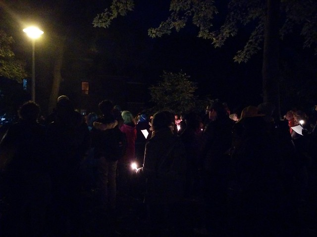 Vigil (2) #toronto #dufferingrovepark #ifnotnow #pittsburghstrong #vigil #night #latergram
