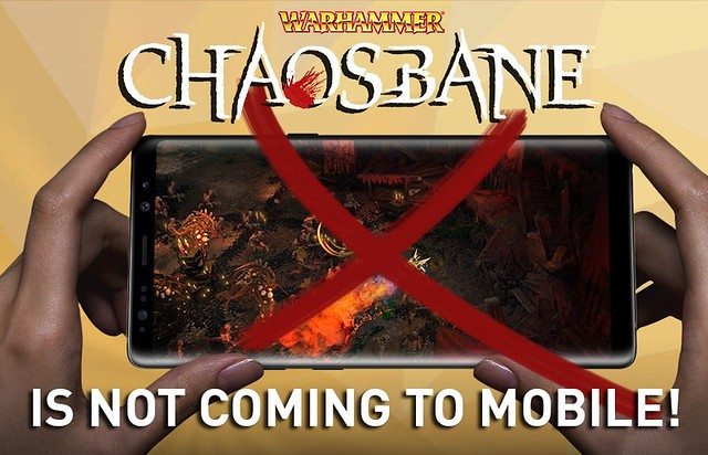 Warhammer Chaosbane Not Coming To Mobile