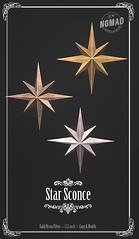 NOMAD // Star Sconce @ FLF