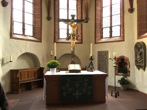 21 - Kronberg - St.-Johann-Kirche - Altar
