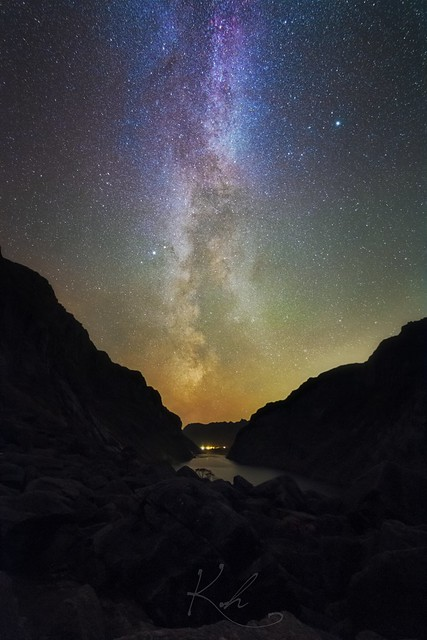Milky way in its full glory