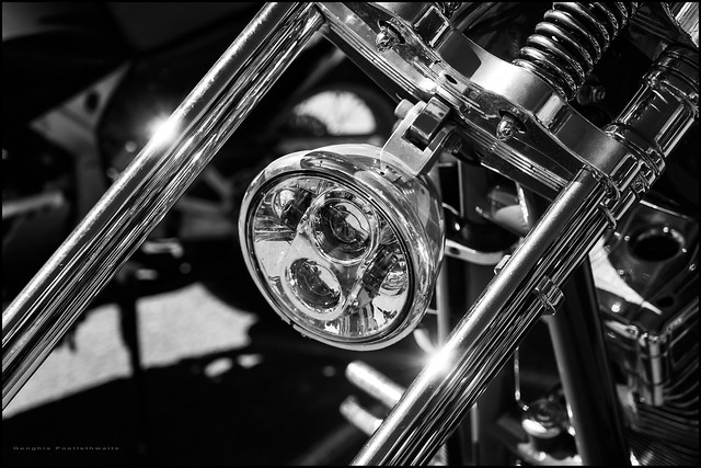 Harley chop headlamp (Explored)