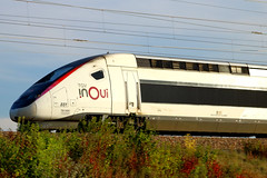 TGV In Oui en approche de la gare de Vendôme TGV