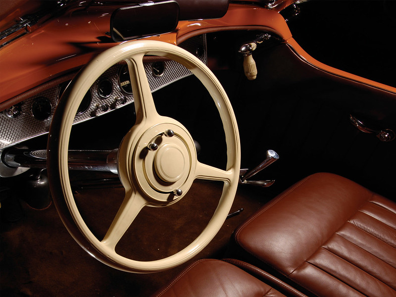 1933. Duesenberg SJ 134 Walton Boattail Speedster SWB.
